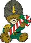 christmas,guard,bear,media,clip art,externalsource,public domain,image,png,svg,animal,mammal,ursine,uspto,holiday,candy cane,uniform