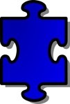 jigsaw,blue,puzzle,piece