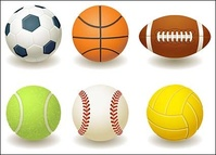 football,basketball,rugby,tennis,baseball,volleyball,material