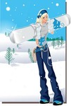 snow,boarding,vector