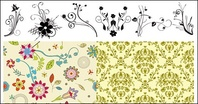 practical,pattern,seamless,retro,supreme,set,sample,damask,flower,floral,background,designious,floral pattern,retro pattern,wallpaper,decorative pattern,old fashioned pattern,ornament,decoration,decorative,old,fashioned,florals,spiral,nature