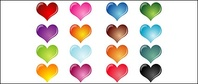 colorful,heart,shaped,crystal,effect
