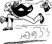 running,late,cartoon,caricature,man,media,clip art,externalsource,public domain,image,svg