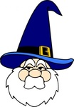 wizard,blue,remix,face,hat,old man,fairy tale,fantasy,magic