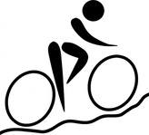 olympic,sport,cycling,mountain,biking,pictogram