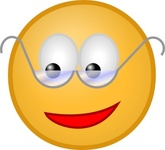 smiley,glasses,media,clip art,public domain,image,svg