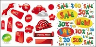 sale,decorative,element,vector