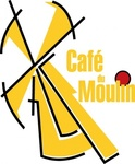 cafe,moulin,logo
