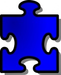 blue,jigsaw,puzzle,piece,game,shape,media,clip art,public domain,image,png,svg