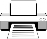 computer,printer,electronics,media,clip art,public domain,image,svg