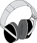 headphone,media,clip art,externalsource,public domain,image,png,svg,stereo,headphone,sound,music,equipment,uspto,headphone