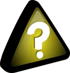 exclamation,icon,remix problem,remix,question,query,prompt,series,yellow,black,triangle,sign