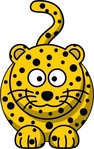 leopard,remix,cartoon,animal,cat,mammal,clip art,media,public domain,image,png,svg
