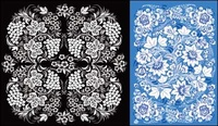 flora pattern vector,victorian,floral,flower,beautiful,pattern