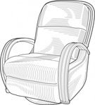 lounge,chair,clip