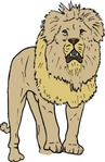 lion,zoo,animal,mammal,feline,media,clip art,public domain,image,png,svg