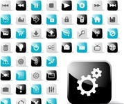 glossy,icon,application,admin panel,web2,round,square,material