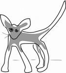 addon,kitten,line drawing,cat,long leg,animal,line art,media,clip art,public domain,image,png,svg,long leg,long leg,long leg,long leg