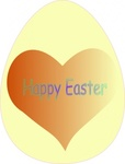 happy,easter,heart