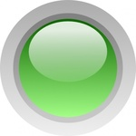 circle,green,button,glossy,round,media,clip art,public domain,image,svg