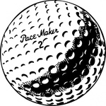 golfball,golf,sport,athletics,ball,black & white,contour,outline