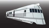 pioneer,zephyr,train,streamline,transportation,engine