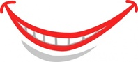 cuaju,caugh,smile,mouth,teeth,cartoon,people,face,media,clip art,public domain,image,png,svg