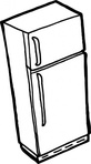 fridge,outline,appliance,epa,epa sunwise,household,electrical appliance,kitchen,freezer,coloring book,line art,contour,cartoon