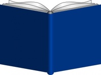 open,book,blue,media,clip art,public domain,image,png,svg