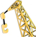 equipment,crane,industrial,technical,construction,machinery,media,clip art,public domain,image,png,svg