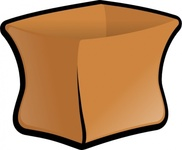 sack,bag,brown,paper,media,clip art,public domain,image,png,svg