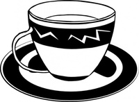 coffee,fastfood,food,menu,colouring book,lunch,dinner,drink,tea,cup,saucer,dish