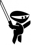 black,white,sword,cartoon,ninja,fight,katana,weapon,japanese