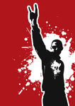 heavy,metal,guy,people,_people,rock,music,&,roll,silhouette,skull,grunge,splat,splatter,human,man