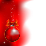red,christmas,background,red-ball,ball,bell,ribbon,xmas,illustration,star,glitter