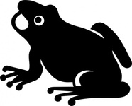 frog,silhouette,animal,amphibian,media,clip art,public domain,image,png,svg