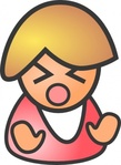 angry,female,people,icon,sad,crying,media,clip art,public domain,image,png,svg