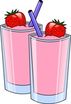 strawberry,smoothie,drink,beverage,cup,food,milk,glass,color,pink