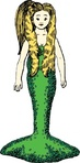 mermaid,media,clip art,externalsource,public domain,image,png,svg,myth,mythology,undersea,uspto