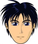 adult,person,anime,cartoon,head