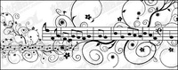 music,pattern,material