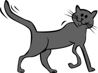 cartoon,animal,cat,mammal,pet