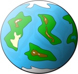 planet,symbol,globe,earth,geography,cartoon,nature,space