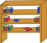 furniture,library,shelf,book,media,clip art,public domain,image,png,svg,household,bookcase,bookshelf