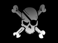 aitor,avila,pirate,jolly roger,flag,sign