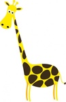 cartoon,giraffe,clip