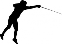 fencing,sport,fencer,exercise,training,fight,competintion,escrime,silhouette