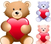 cute,teddy,bear,heart