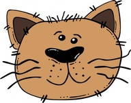 cartoon,face,animal,cat,outline,worldlabel,externalsource