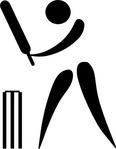 olympic,sport,cricket,pictogram,clip